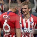 Griezmann lập cú đúp, Atletico thắng dễ ở Champions League