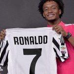 Cuadrado nhường áo số 7 tại Juventus cho Ronaldo