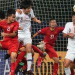 Việt Nam chịu ba quả phạt đền, thua Hàn Quốc ở giải U19 châu Á