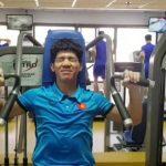 Báo Hàn Quốc khen tinh thần tập luyện của cầu thủ Việt Nam