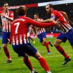Atletico lên thứ hai La Liga, chỉ kém Barca một điểm