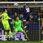 Barca thua Levante ở Cup Nhà Vua