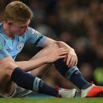 De Bruyne nghỉ một tháng, lỡ trận derby với Man Utd