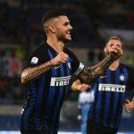 Icardi lập cú đúp, Inter vượt Napoli lên thứ hai Serie A