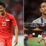 Bố lập công đầu, con trai ghi bàn thứ 100 cho Singapore ở AFF Cup