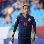 Thái Lan mất trụ cột ở vòng 1/8 Asian Cup