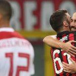 Milan ghi ba bàn trong chín phút, toàn thắng tại Europa League
