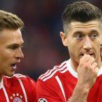 Kimmich 'nắn gân' Lewandowski sau vụ chỉ trích Bayern