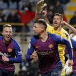 Barca thắng đối thủ hạng Ba bằng bàn thắng phút 90