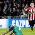 Lloris nhận thẻ đỏ, Tottenham bị PSV cầm hòa