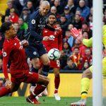 Tỷ lệ cầm bóng của Man City thấp kỉ lục trong trận hòa Liverpool