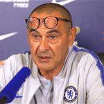 Sarri: 'Chelsea chỉ đua vào top 4 vì kém Man City và Liverpool'