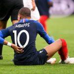 Mbappe nén đau thi đấu hai trận cuối World Cup 2018