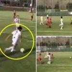 Con trai Ronaldo độc diễn ghi bàn cho đội trẻ Juventus