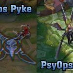 Lộ diện dòng trang phục PsyOps BRG, Yasuo True Damage có phiên bản Hàng Hiệu