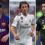 Modric, Ronaldo, Messi vào đề cử Quả Bóng Vàng