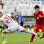 Việt Nam xếp thứ năm ở nhóm tranh vé vớt sau hai lượt trận Asian Cup