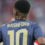 Rashford thừa kế áo số 10 của Ibrahimovic tại Man Utd