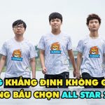 Suning Gaming lên tiếng vì bị nghi tác động đến bầu chọn All Star
