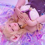 LMHT: cosplay Ahri K/DA ngọt ngào và kiều diễm chẳng thể rời mắt