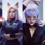 LMHT: Màn hóa thân K/DA hoàn hảo của nữ cosplayer Trung Quốc