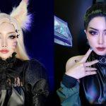 LMHT: Ngắm nhìn màn hoá thân Ahri – Kai'Sa The Baddest đầy thu hút của nữ cosplayer Thái Lan