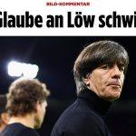 Báo Đức kêu gọi sa thải Joachim Low