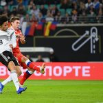 Leroy Sane lần đầu ghi bàn cho tuyển Đức