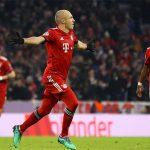 Bayern thẳng tiến nhờ công Robben và Lewandowski