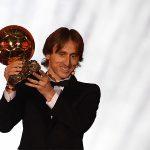 Modric vượt xa Ronaldo về điểm số ở giải Quả Bóng Vàng