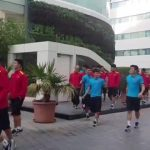 Đội tuyển Việt Nam tập nhẹ tại Qatar
