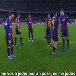 Suarez mắng Pique sau trận thua của Barca