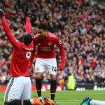 Lukaku và Sanchez đưa Man Utd trở lại vị trí thứ hai