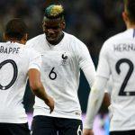 Pogba sút phạt ghi bàn, Pháp đánh bại Nga