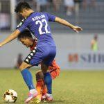 Đà Nẵng hòa Bình Dương ở trận đấu sớm vòng 9 V-League 2018