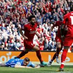 Salah tỏa sáng, Liverpool đại thắng vào top 4