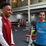 Aubameyang vui mừng khi tái hợp Mkhitaryan ở Arsenal