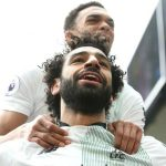 Salah cân bằng kỷ lục của Ronaldo và Van Persie