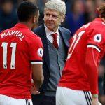 Wenger thất bại trong lần cuối dẫn dắt Arsenal đấu Man Utd
