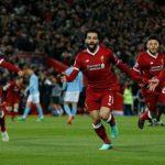 Liverpool đè bẹp Man City ở lượt đi tứ kết Champions League