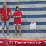 HLV Miura chạnh lòng khi TP HCM chỉ có hai CĐV tới sân cổ vũ