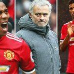 Mourinho ám chỉ Martial và Rashford không đủ sức đá chính