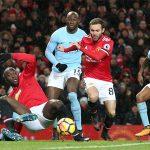Man City có cơ hội đăng quang đúng dịp derby Manchester