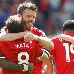 Carrick ghi dấu ấn trong trận chia tay Man Utd