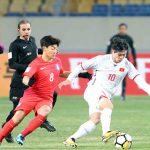 Công Phượng: 'Cả đội đều tiếc vì Hàn Quốc không quá vượt trội'