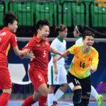 Việt Nam hạ Indonesia, vào bán kết giải futsal nữ châu Á