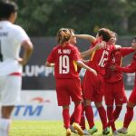 Tuyển nữ Việt Nam thắng Singapore 10-0