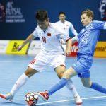 Tuyển thủ futsal Việt Nam xin lỗi vì thất bại trước Uzbekistan