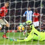 Sanchez lần đầu ghi bàn, Man Utd thắng nhọc ở Ngoại hạng Anh