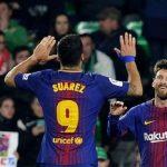 Messi và Suarez ghi nhiều bàn hơn 74 đội ở năm giải hàng đầu